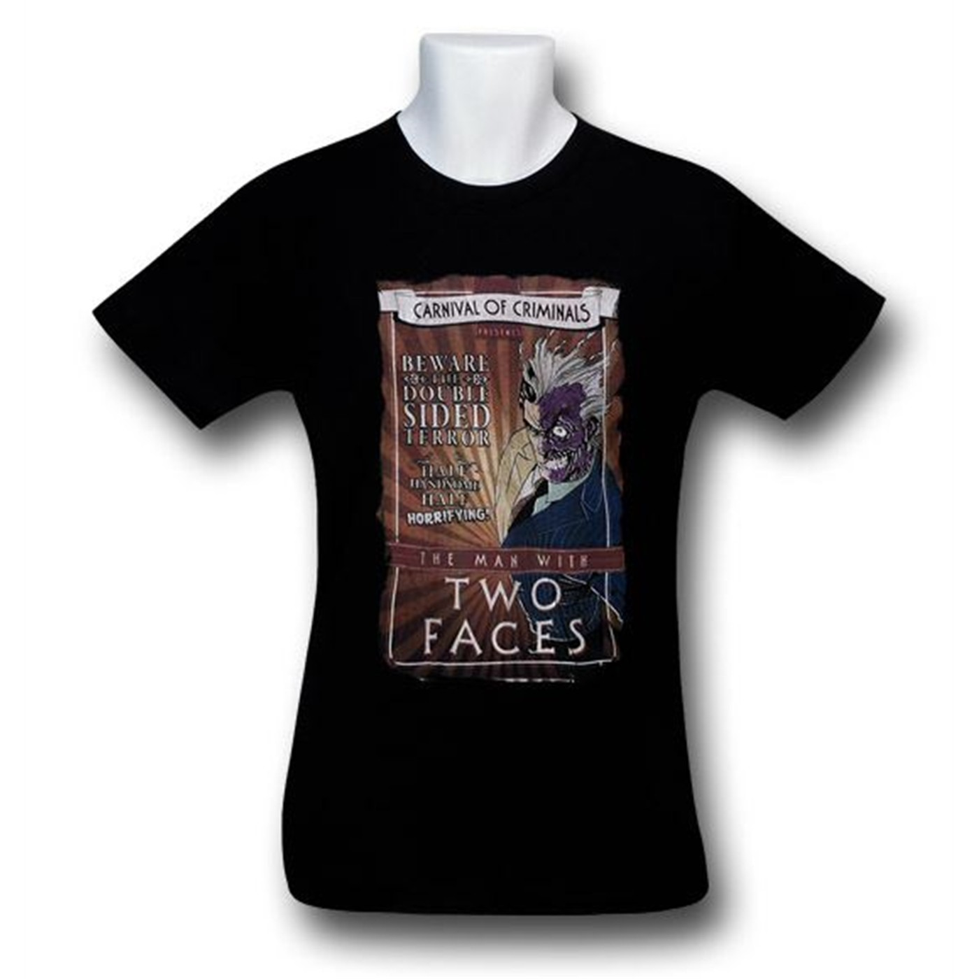 Two-Face Carnival Poster T-Shirt