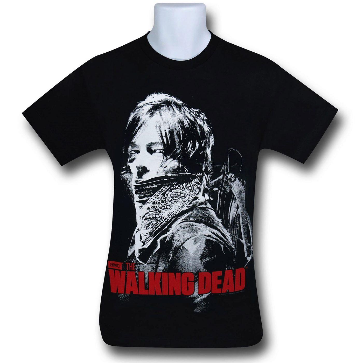 Walking Dead Daryl Crossbow T-Shirt