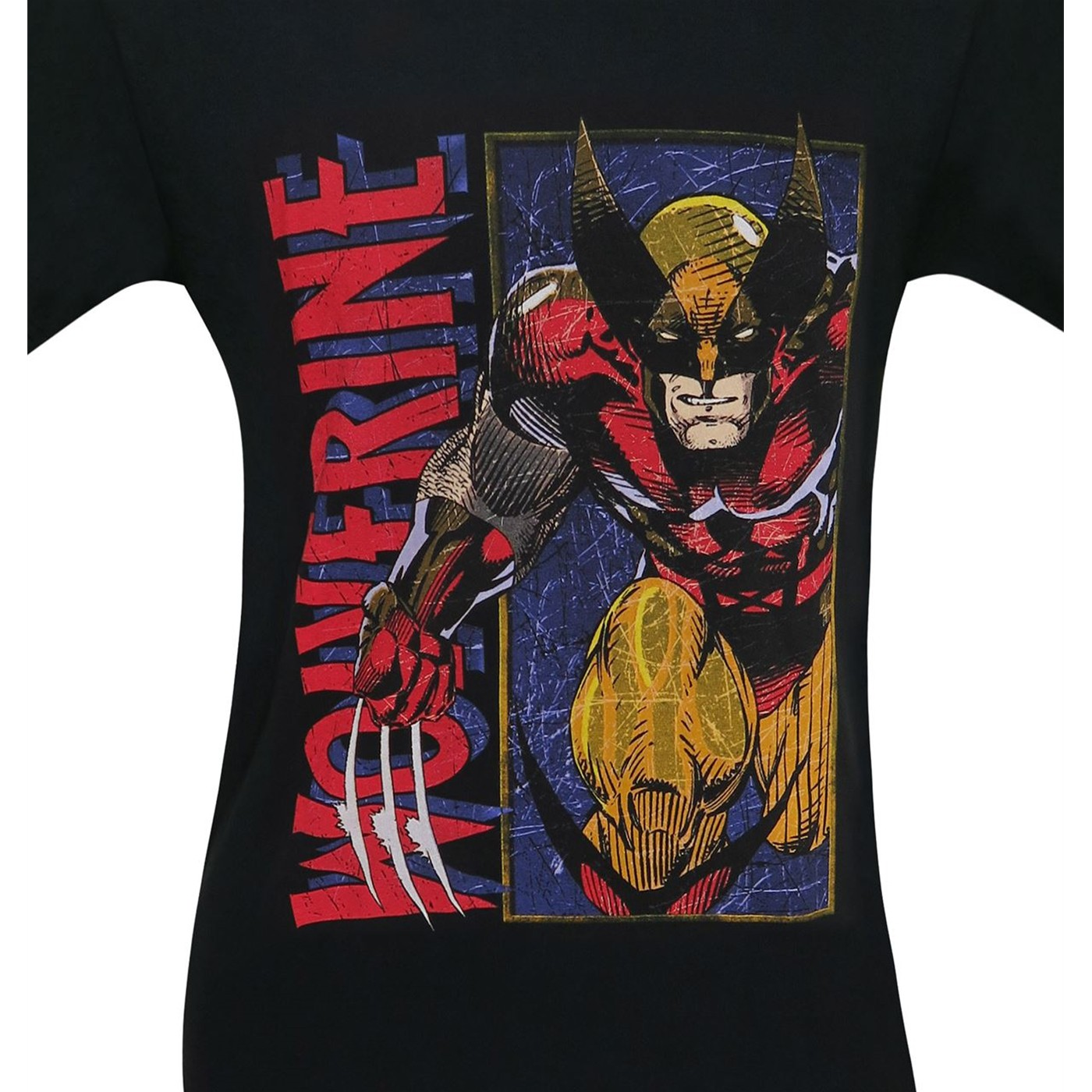 Wolverine in Classic Brown Men's T-Shirt