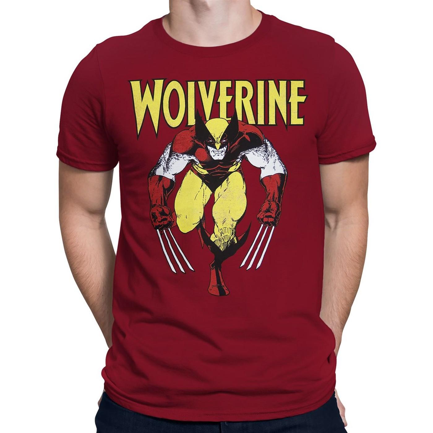 Wolverine Red Rage Distressed T-Shirt
