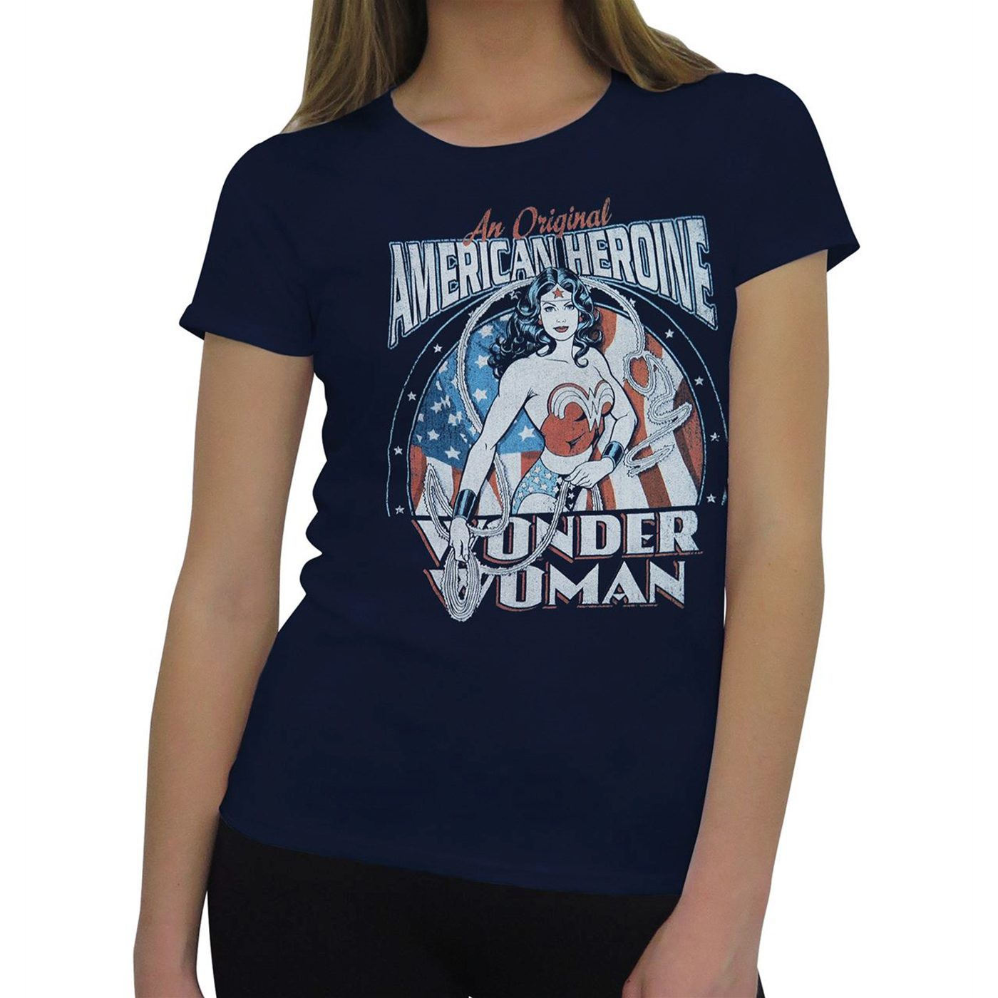 Wonder Woman American Heroine Women's T-Shirt