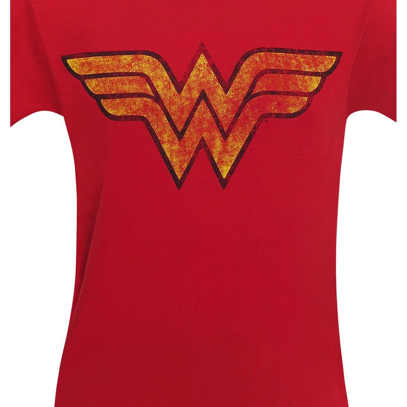 Wonder Woman Distressed Symbol Men's T-Shirt