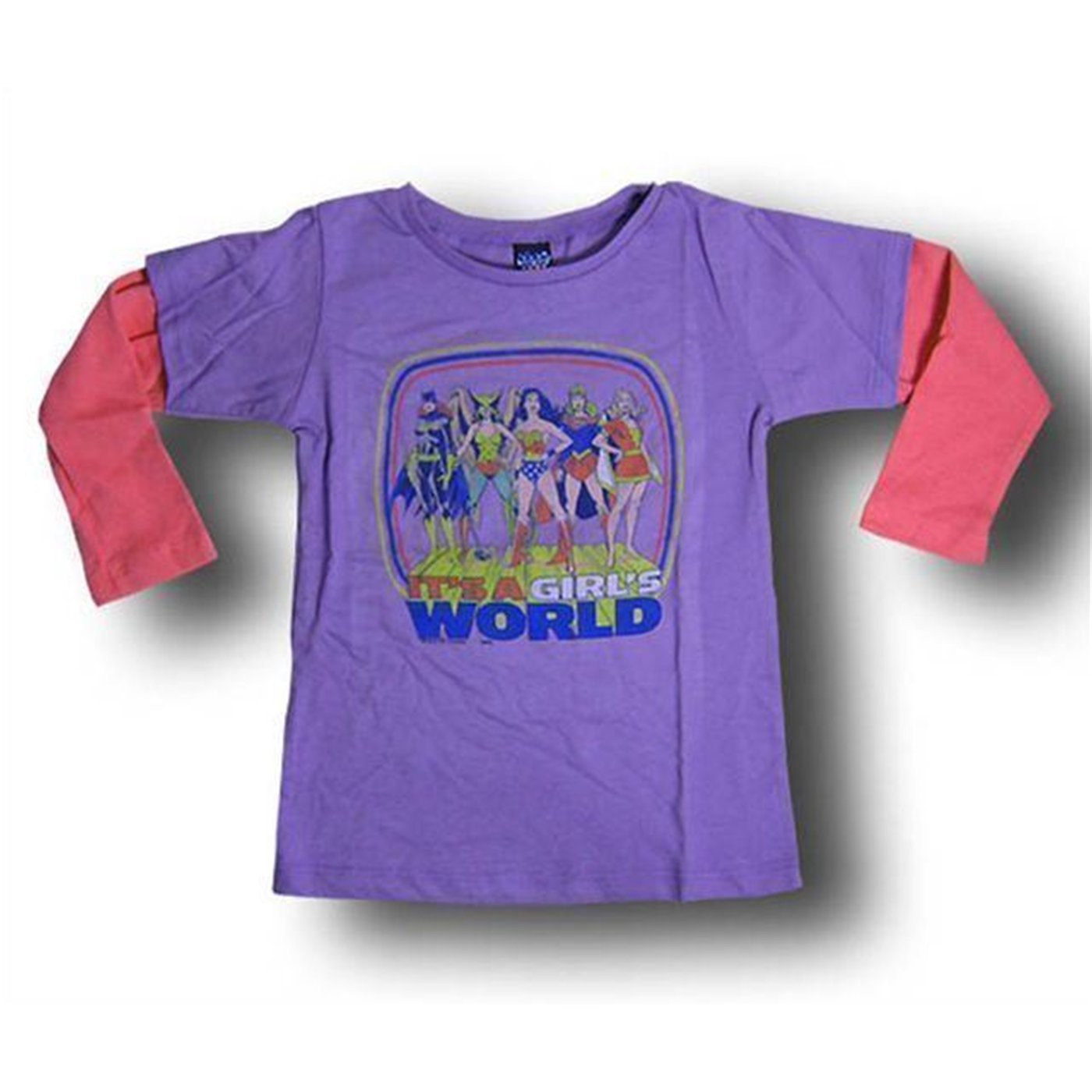 Wonder Woman and Friends Double Infant Junkfood Shirt
