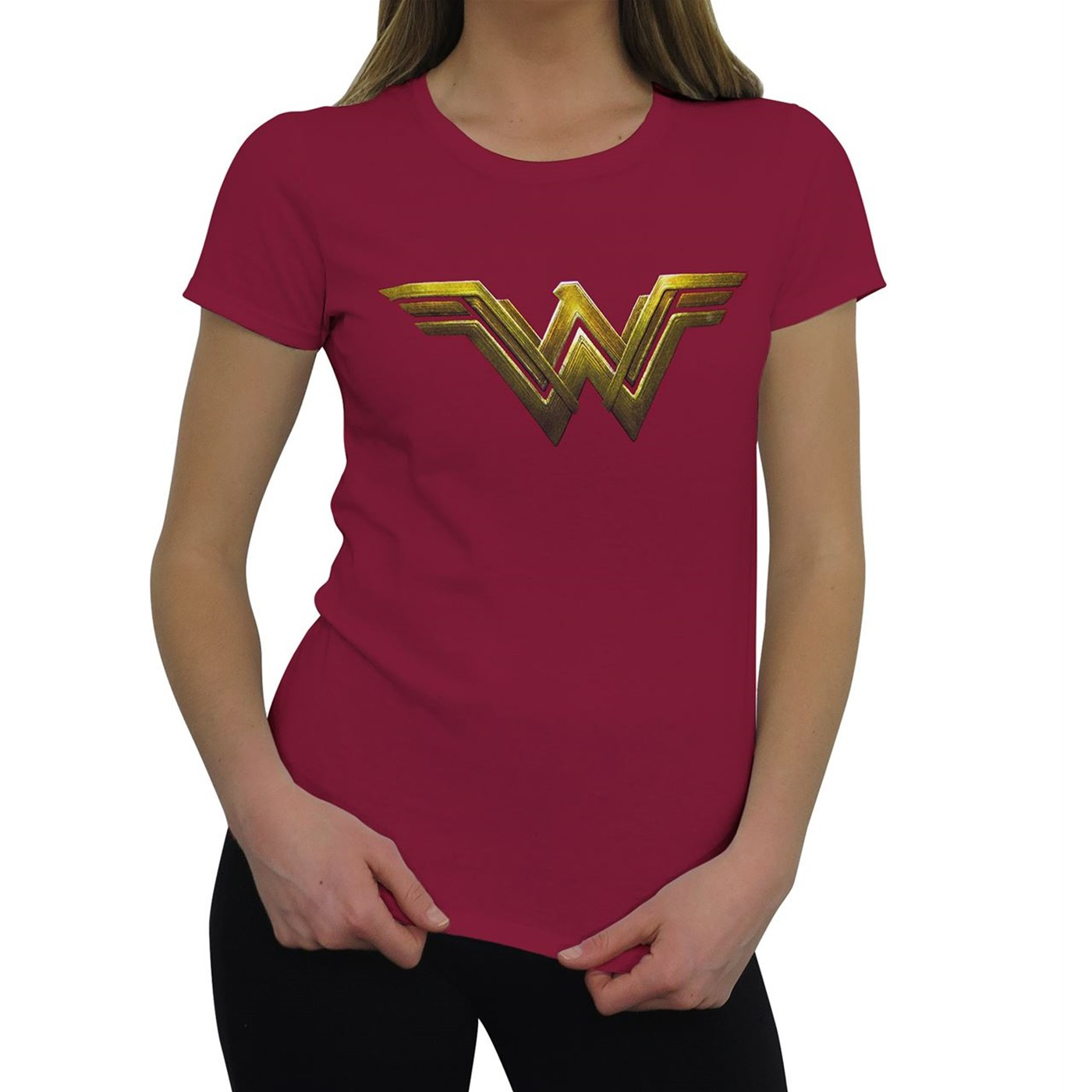 Wonder Woman Justice League Logo Women's T-Shirt