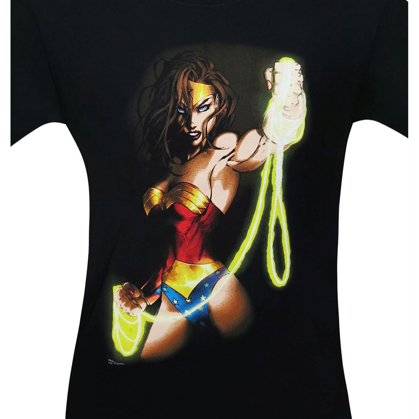 Wonder Woman Men's T-Shirt by Michael Turner