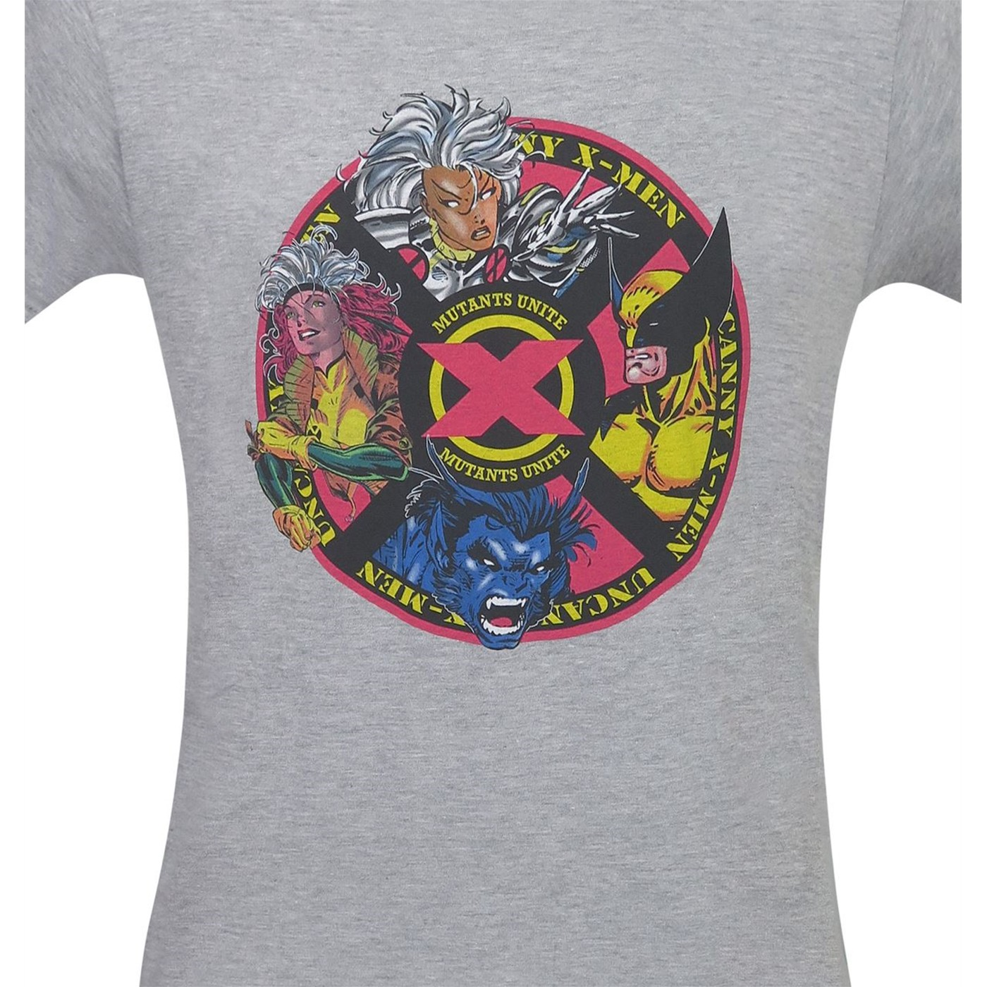 X-Men 90's Mutant Circle by Jim Lee Men's T-Shirt