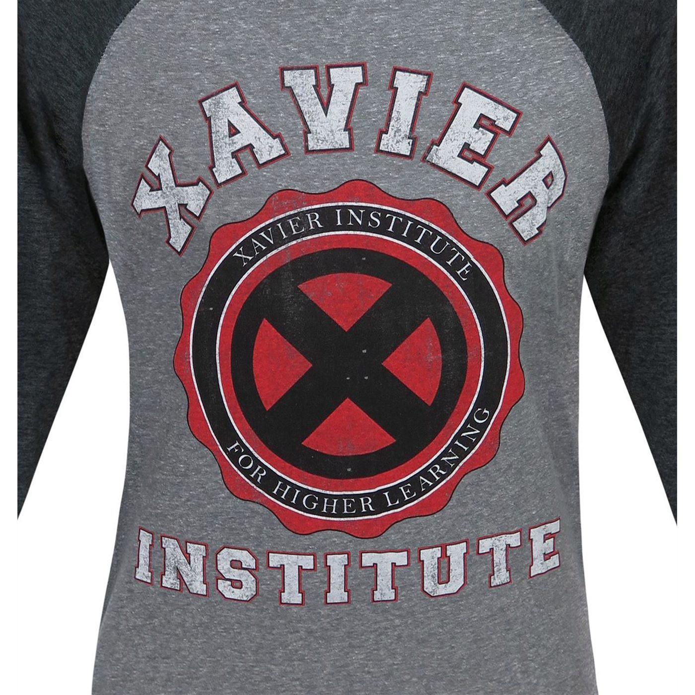 X-Men Xavier Institute Men's Baseball T-Shirt