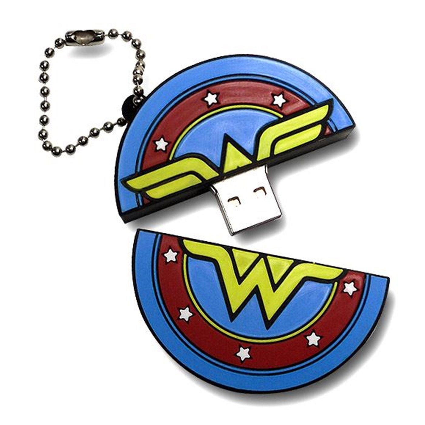 Wonder Woman Symbol 4GB USB Drive