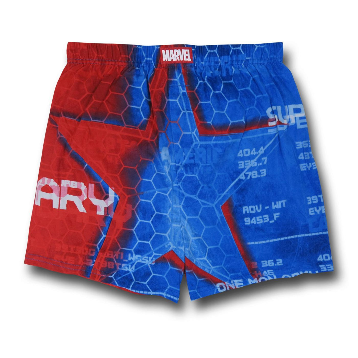 Captain America Legend Boxer Shorts
