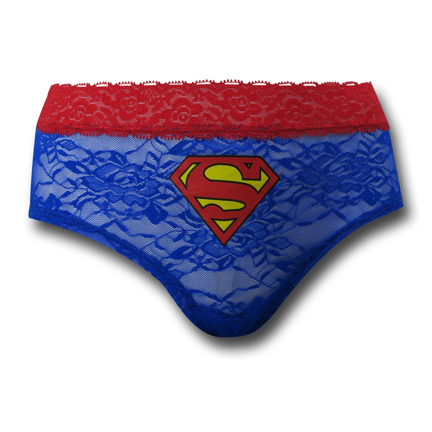 Supergirl Women's Lace Hipster Panty