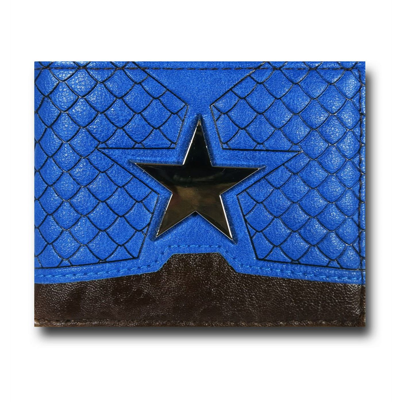 Captain America Suit-Up Men's Bi-Fold Wallet