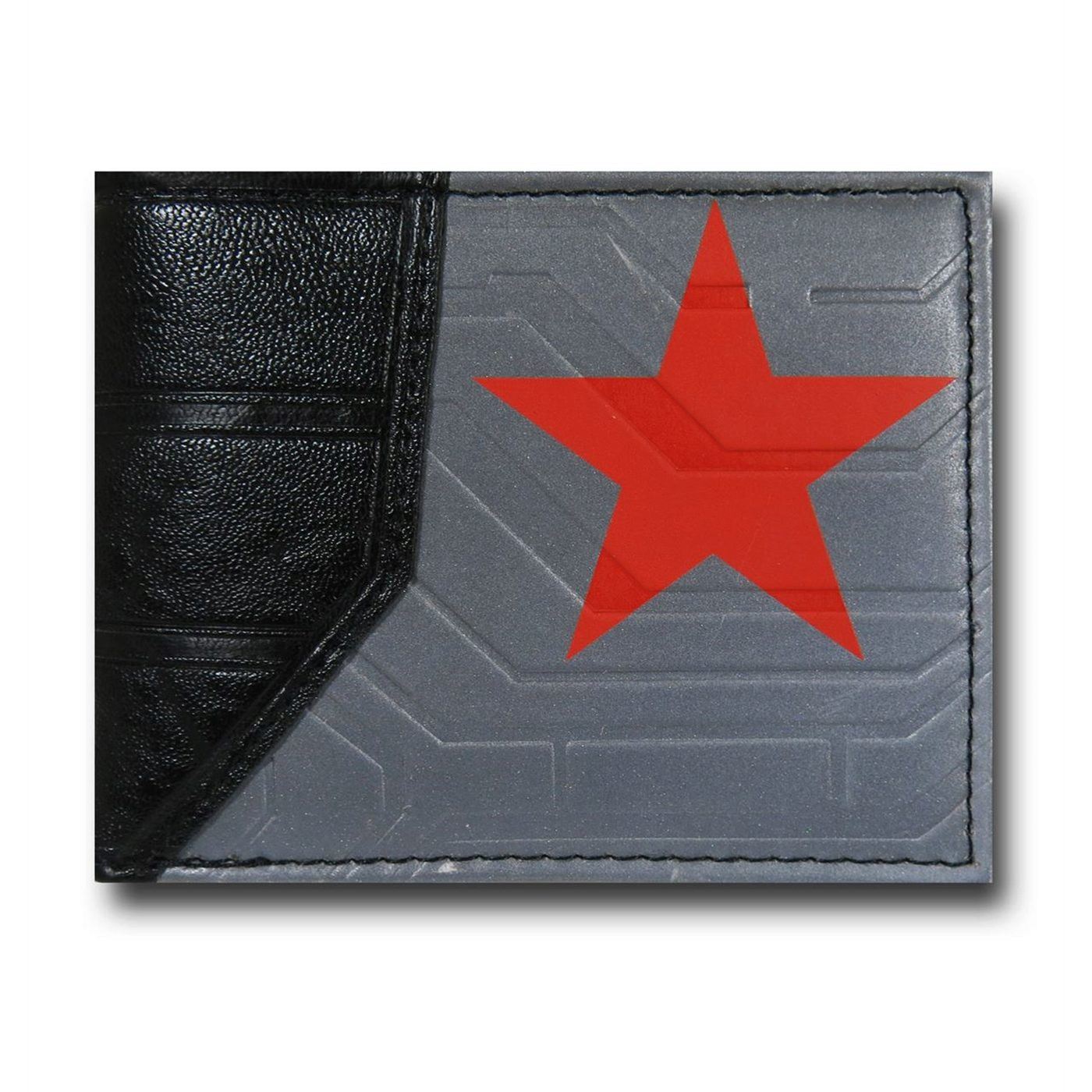 Winter Soldier Suit,Up Men\u0027s Bi,Fold Wallet