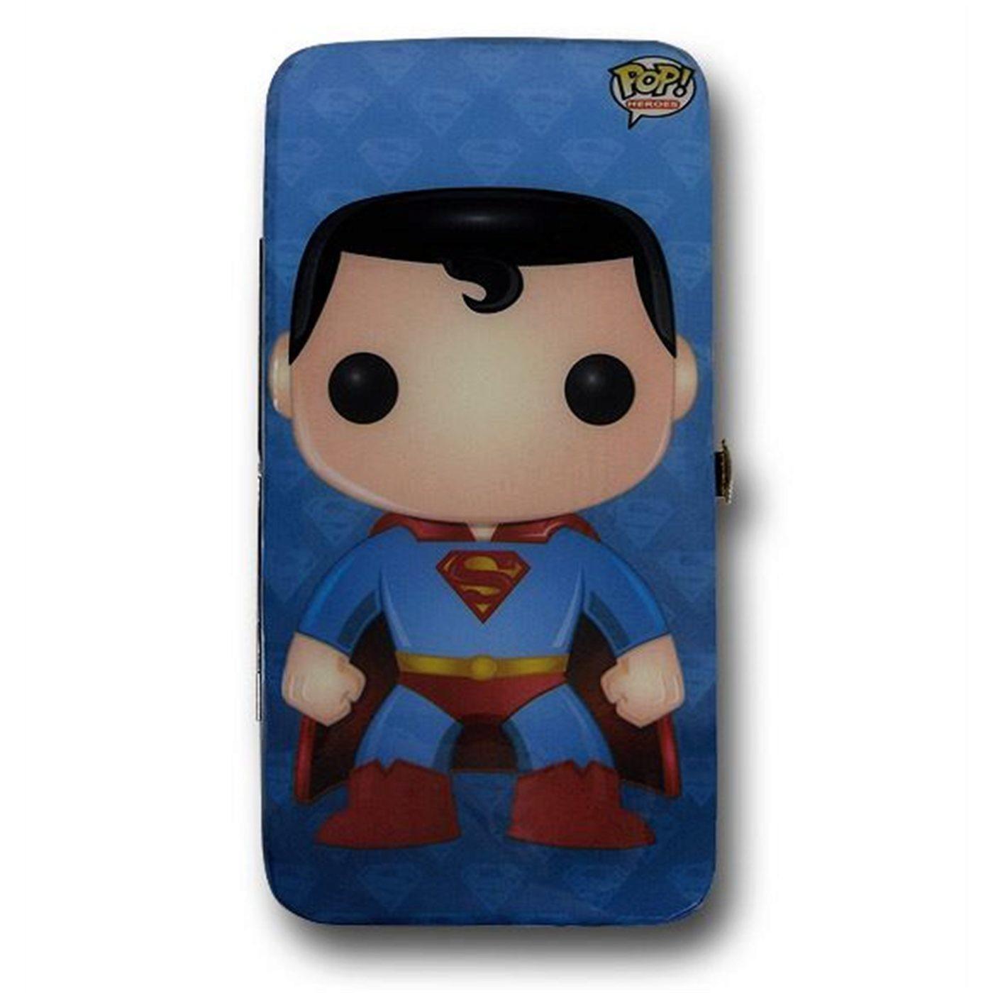 Superman Pop Heroes Hinged Ladies Wallet