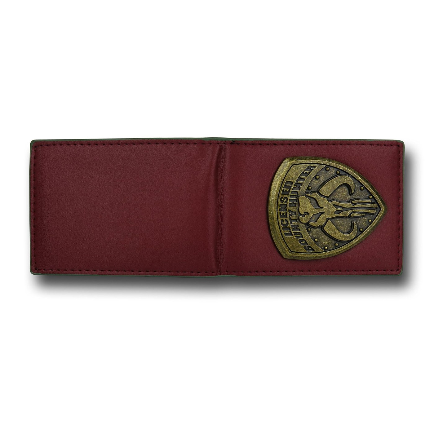 Boba Fett Mandalorian Badge Credit Card Wallet