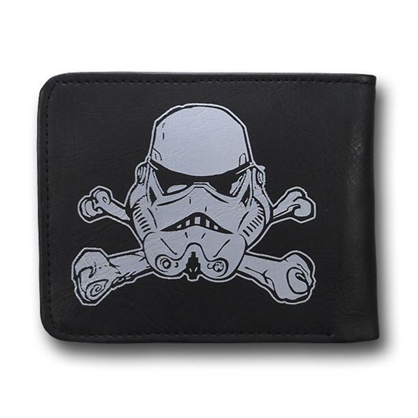 Star Wars Stormtrooper Crossbones PVC Wallet
