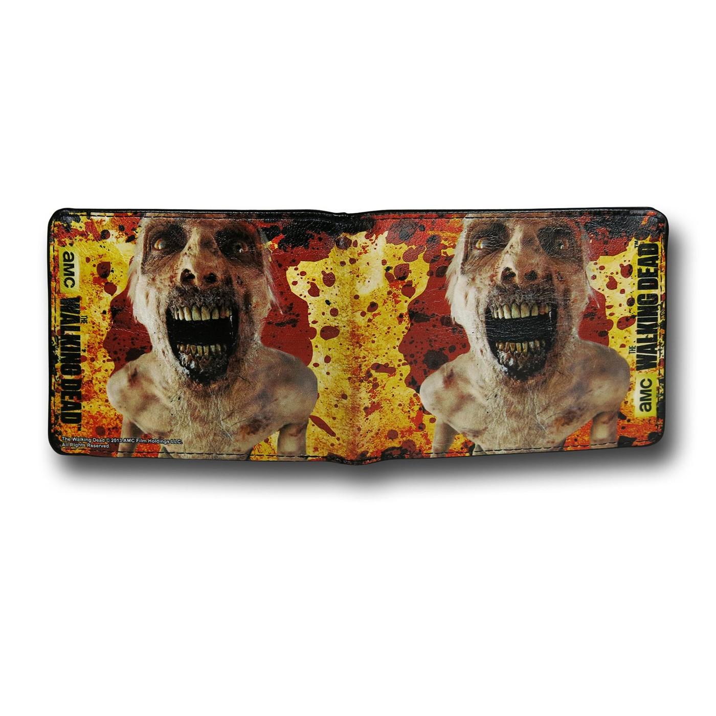 Walking Dead Smile Bi-Fold Wallet