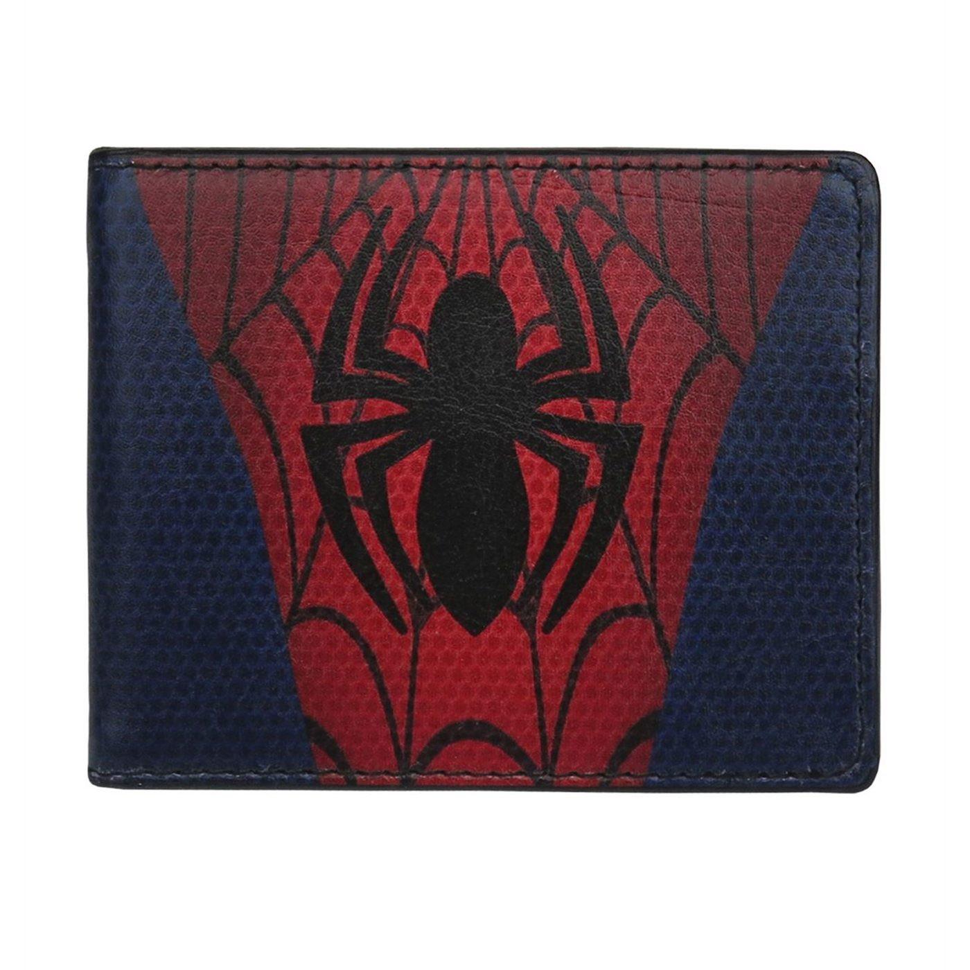 Spider-Man Costume Bi-Fold Wallet