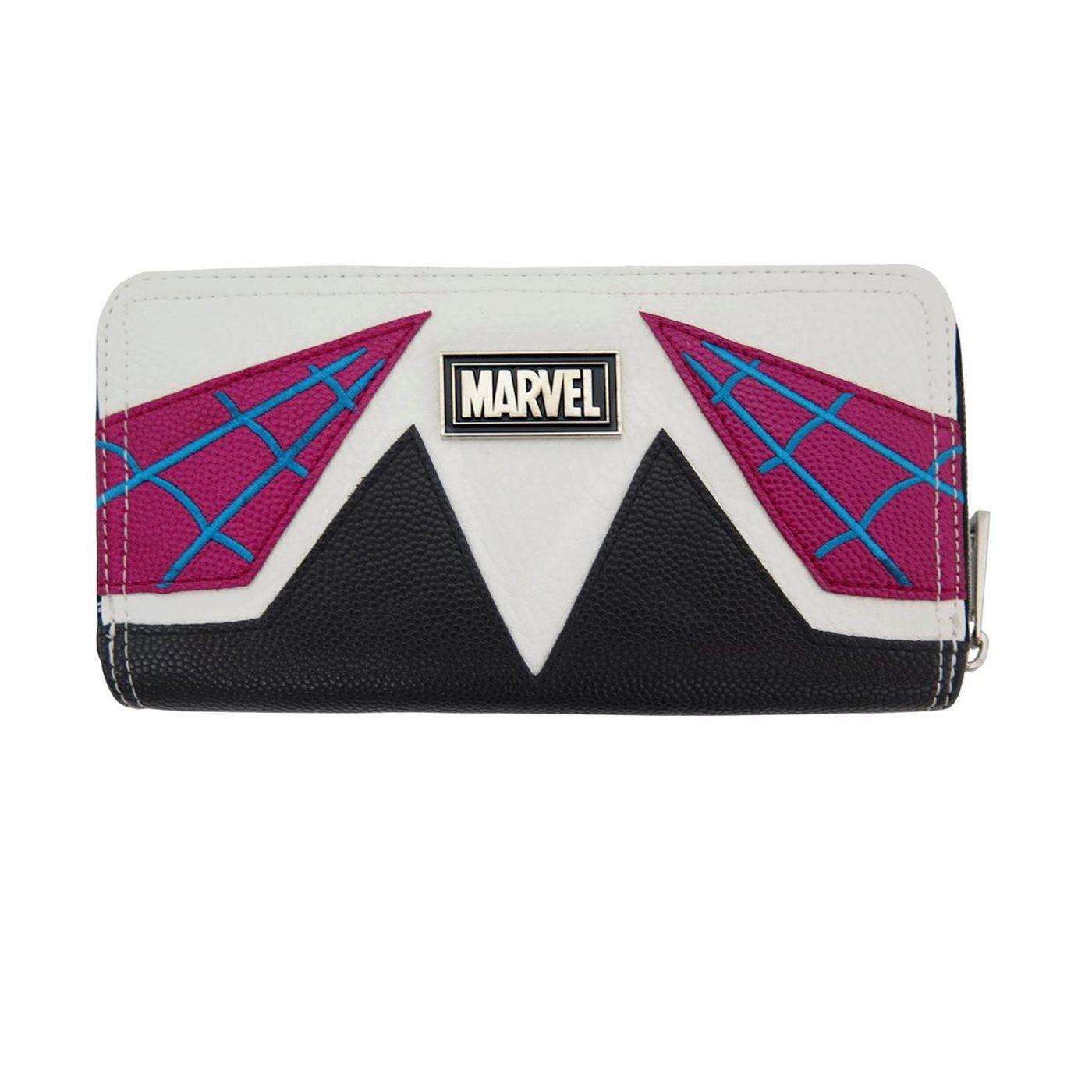 Spider Gwen Costume Zipper Wallet
