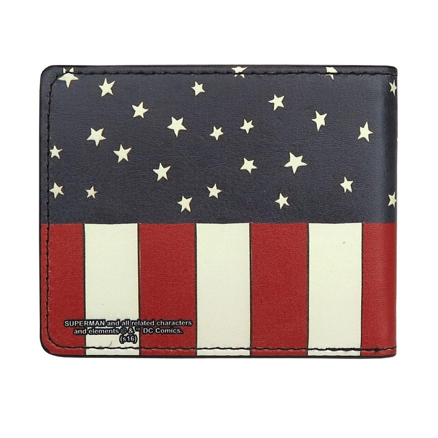 Superman USA Bi-Fold Wallet