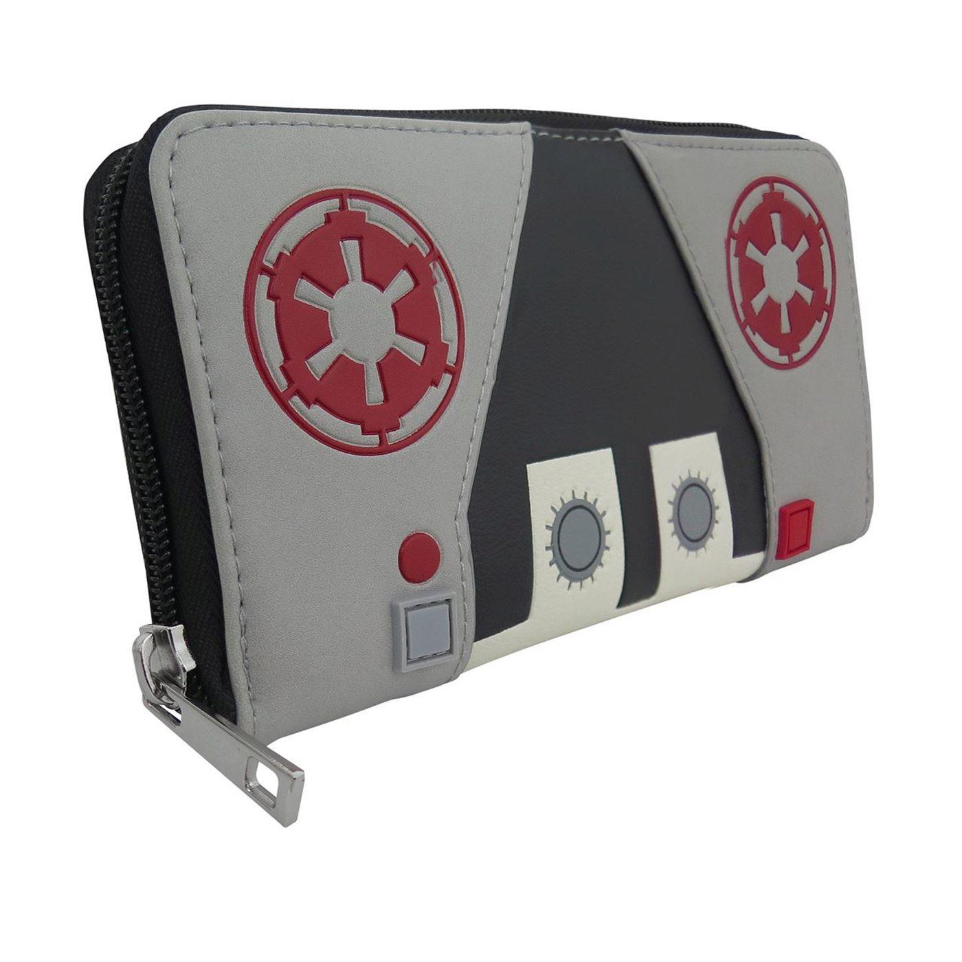 Star Wars AT-AT Pilot Women's Zip Around Wallet