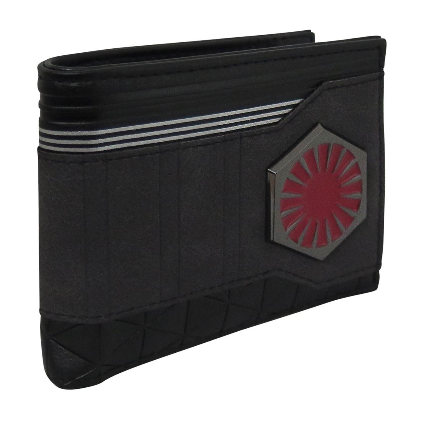 Star Wars Last Jedi First Order Men's Bi-Fold Wallet