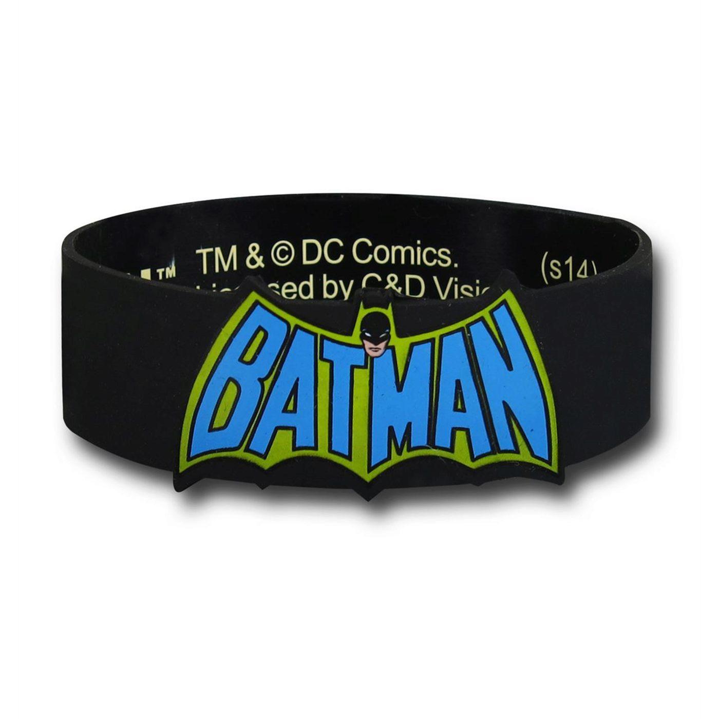 Batman Vintage Logo Wristband
