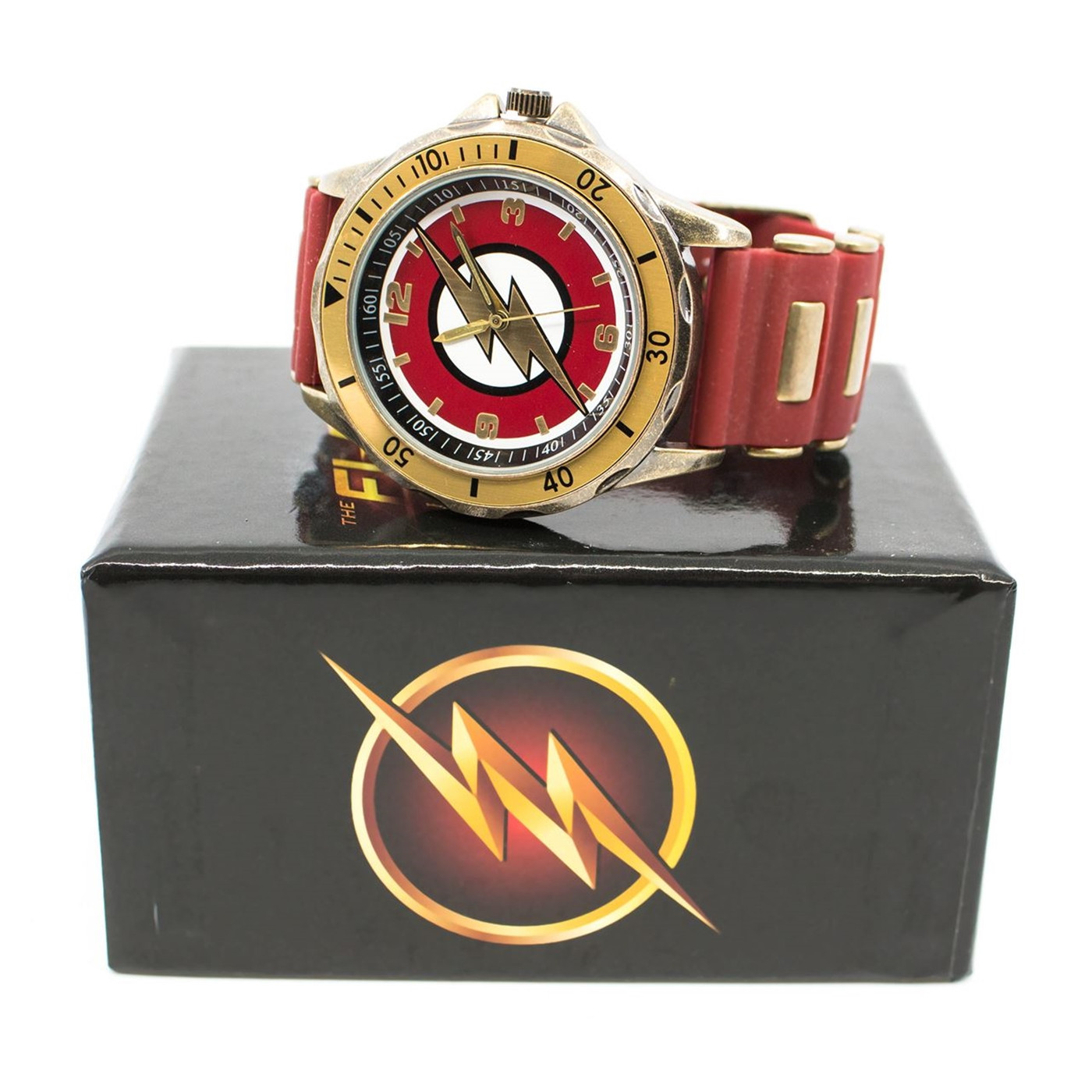 Flash TC Symbol Watch with Silicone Adjustable Strap