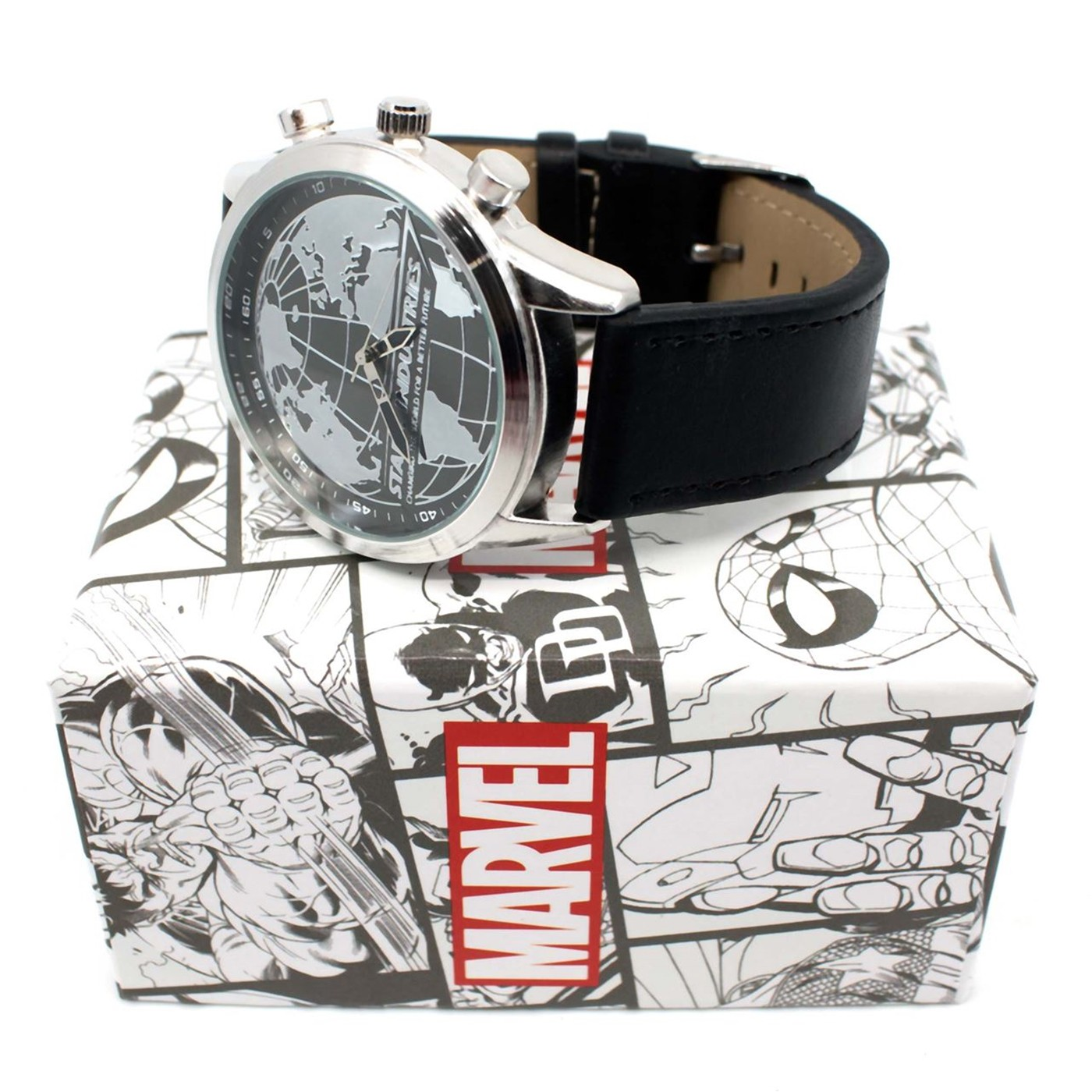 Iron Man Stark Industries Property of AES Watch with Adjustable Strap