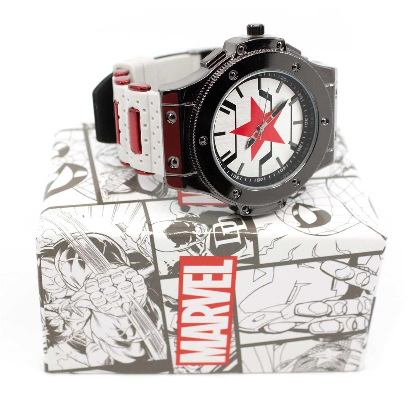 Winter Soldier Armor Watch with Adjustable Strap
