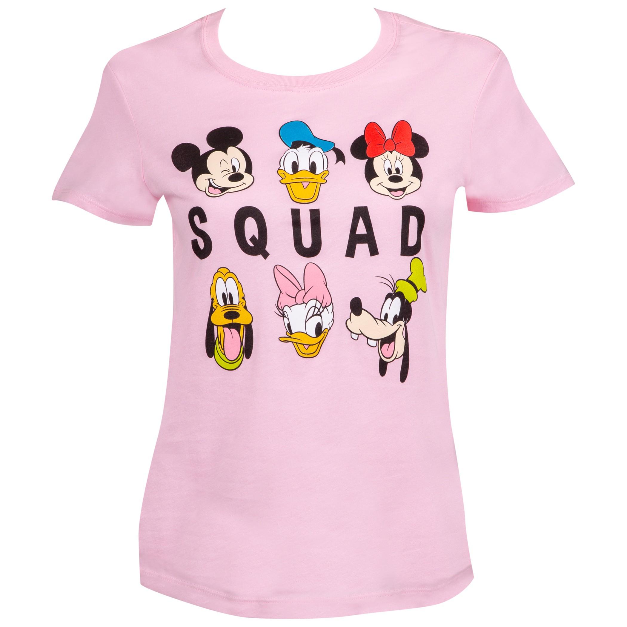Disney Squad Pink Ladies Tee Shirt