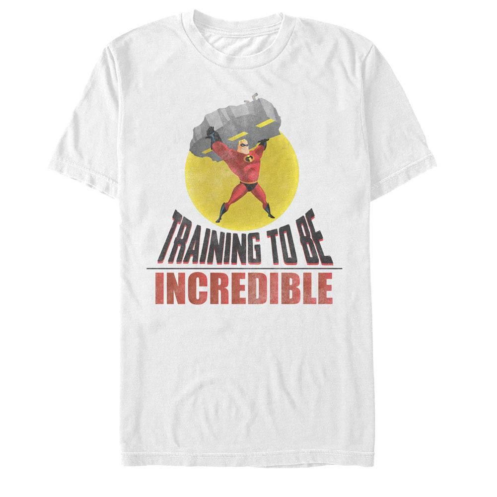 Disney Pixar The Incredibles Incredible Training White T-Shirt