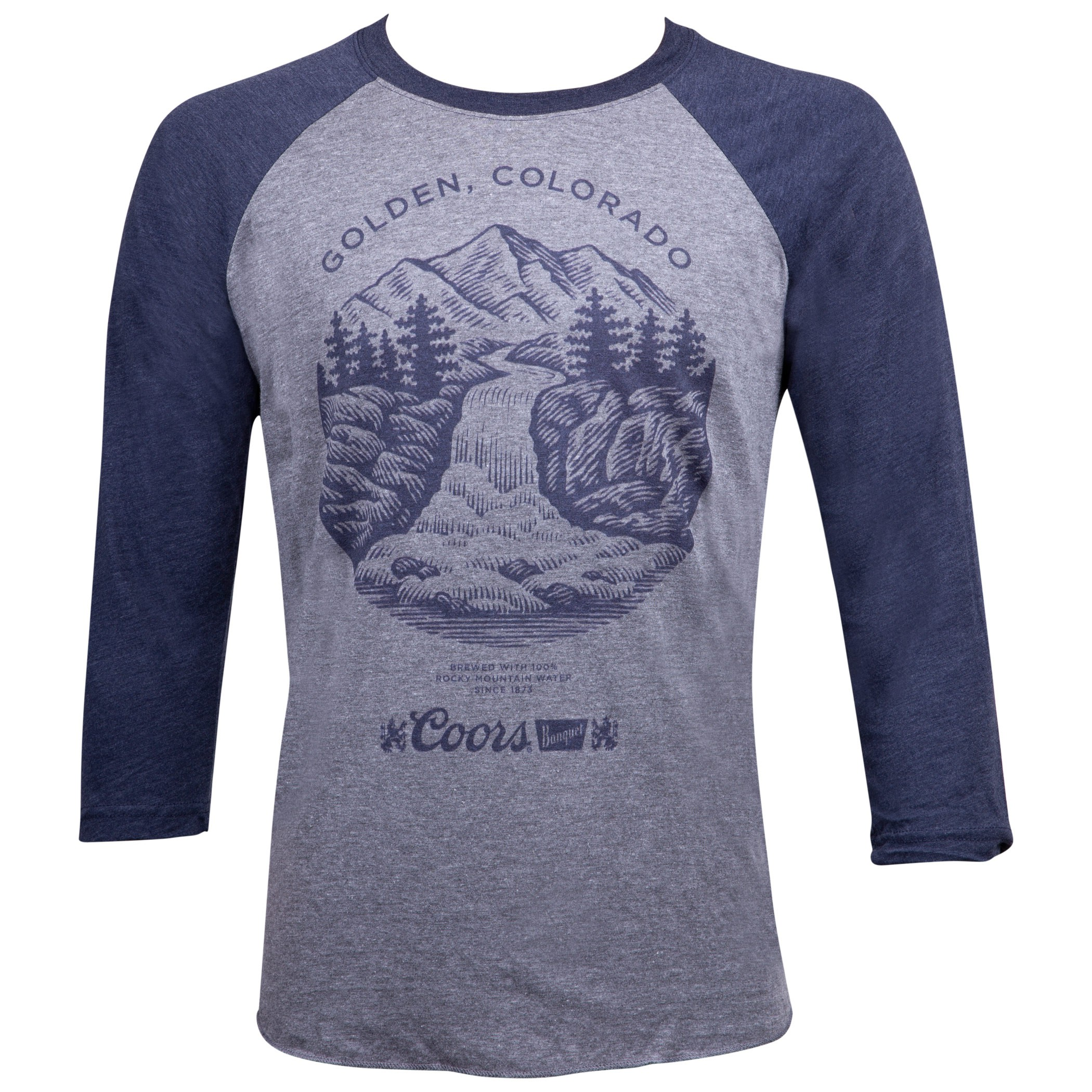 Coors Golden Colorado Raglan Shirt