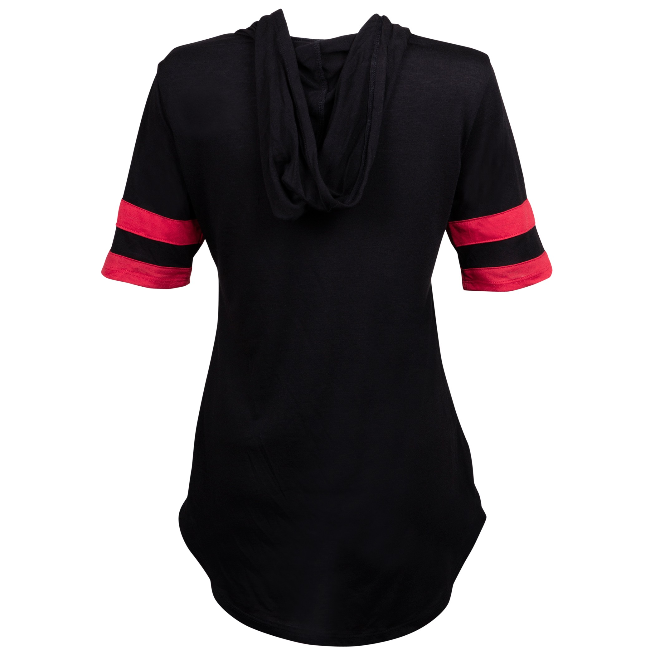 Minnie Mouse Hooded Women's Football Tee