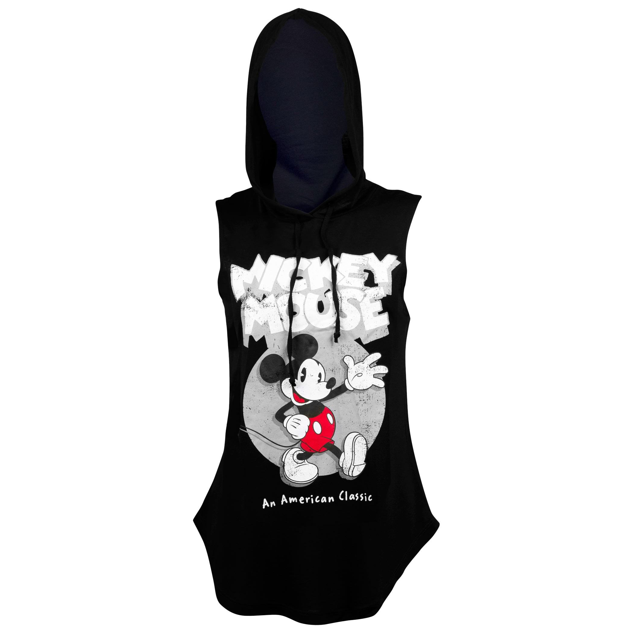 Mickey Mouse American Classic Women's Hooded Tank