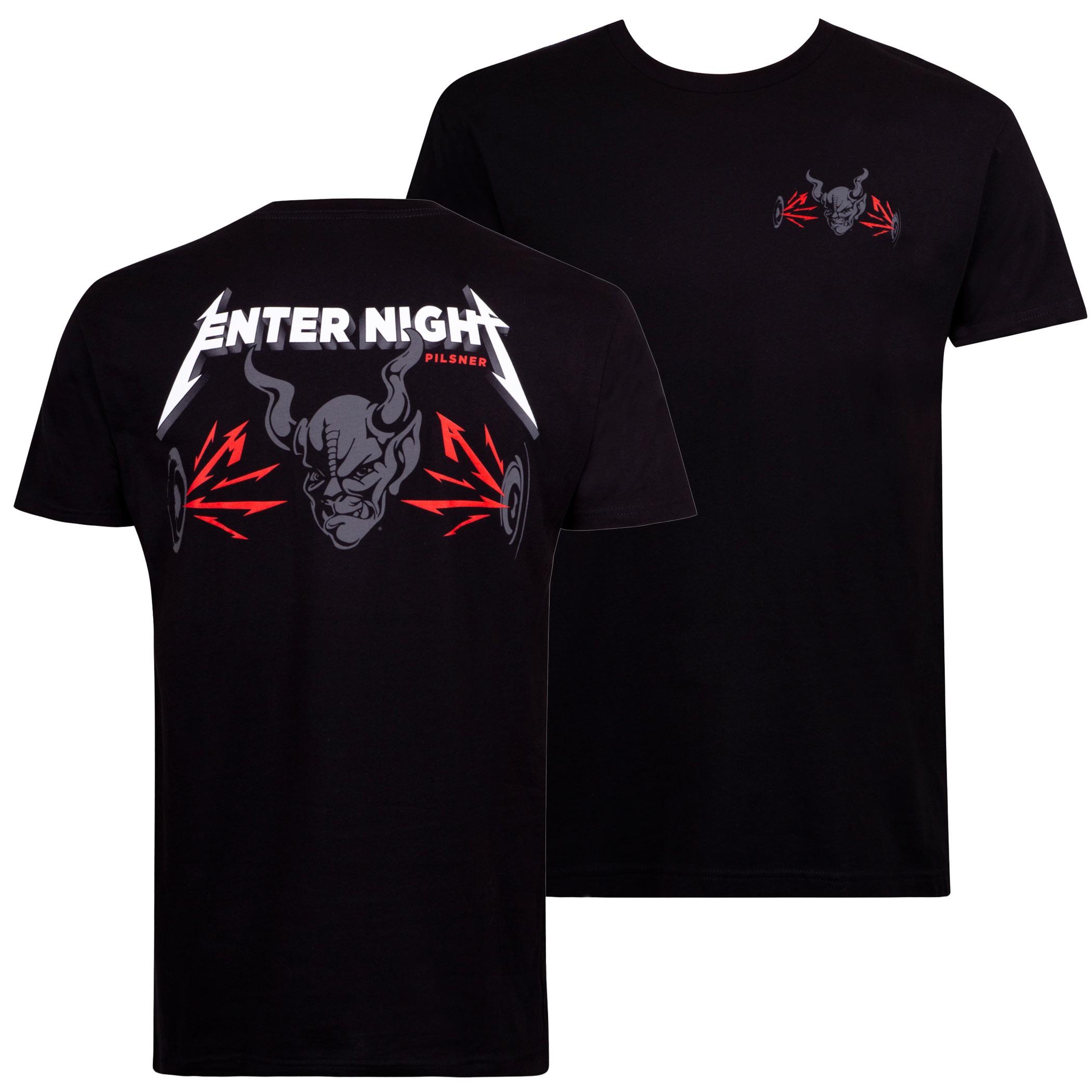 Arrogant Bastard Enter Night Black Tee Shirt