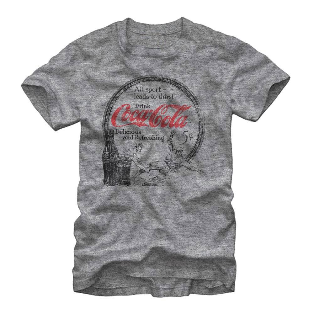 Coca-Cola All Sport Gray T-Shirt