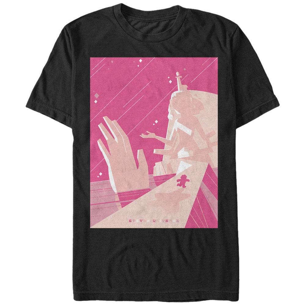 Steven Universe Crystal Temple Black T-Shirt