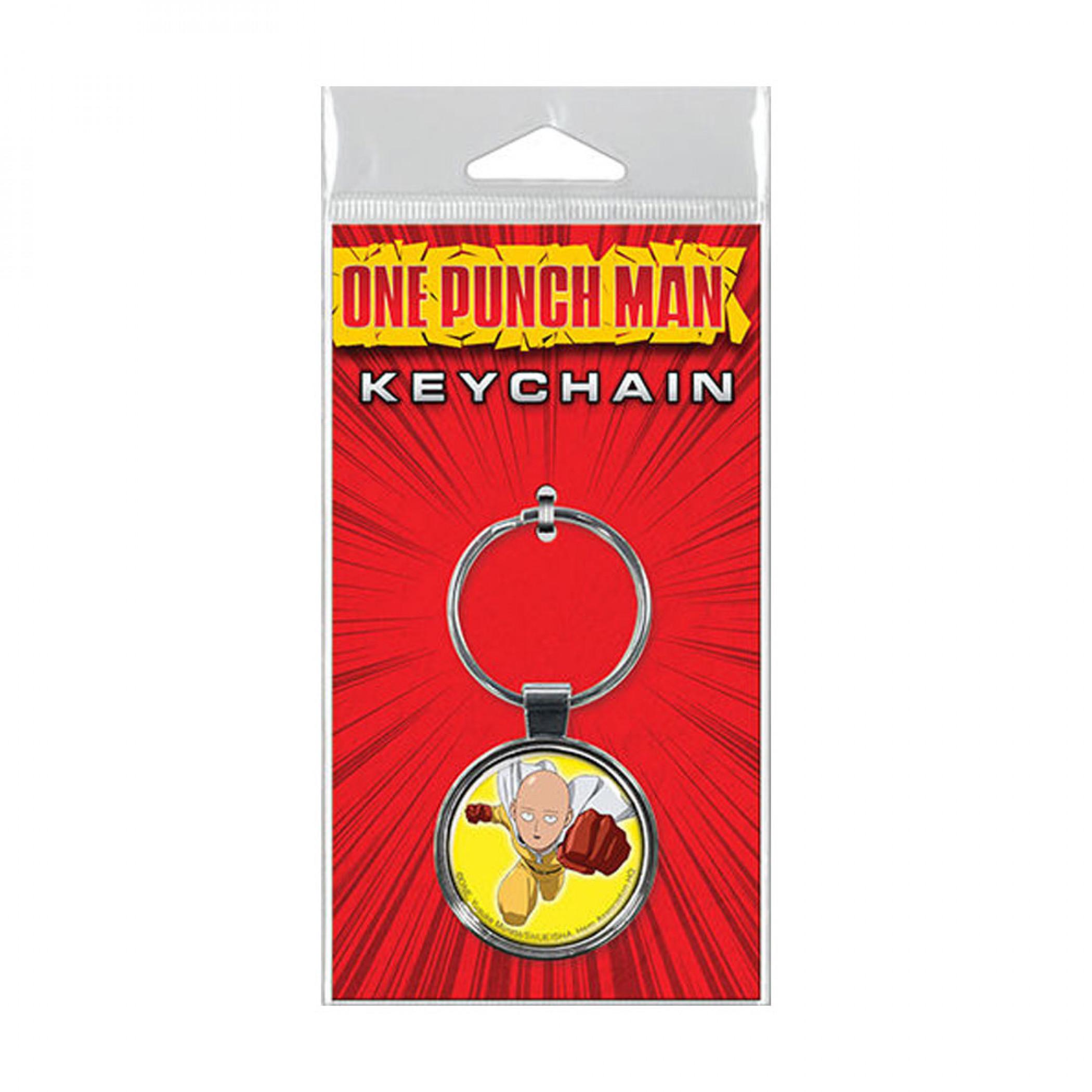 One Punch Man Keychain