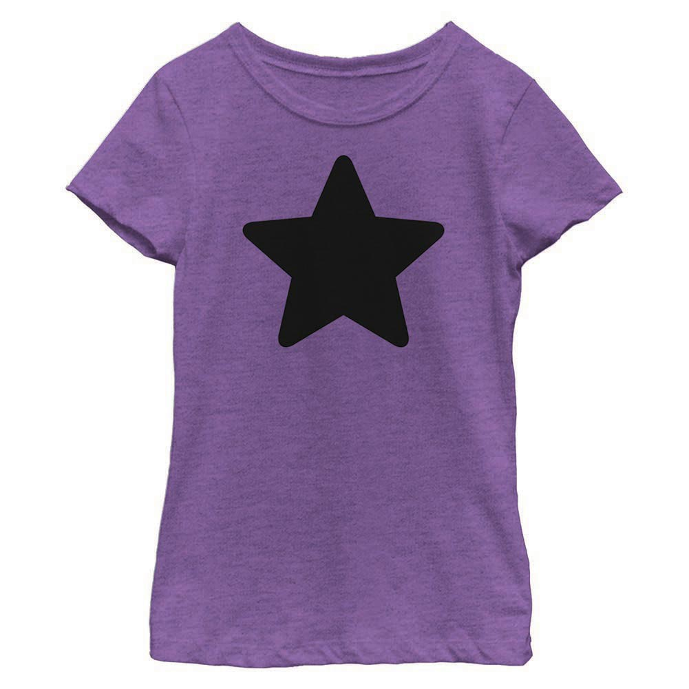 Steven Universe Amethyst Star Purple Youth Girls T-Shirt