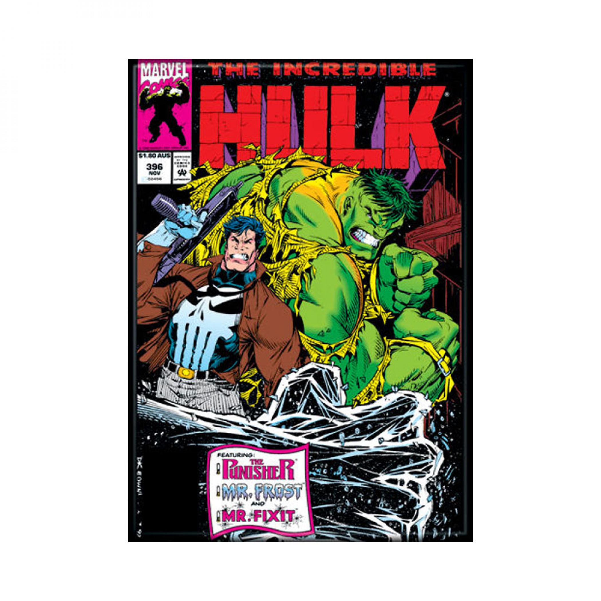 Incredible Hulk Comic Cover #396 Photo Magnet