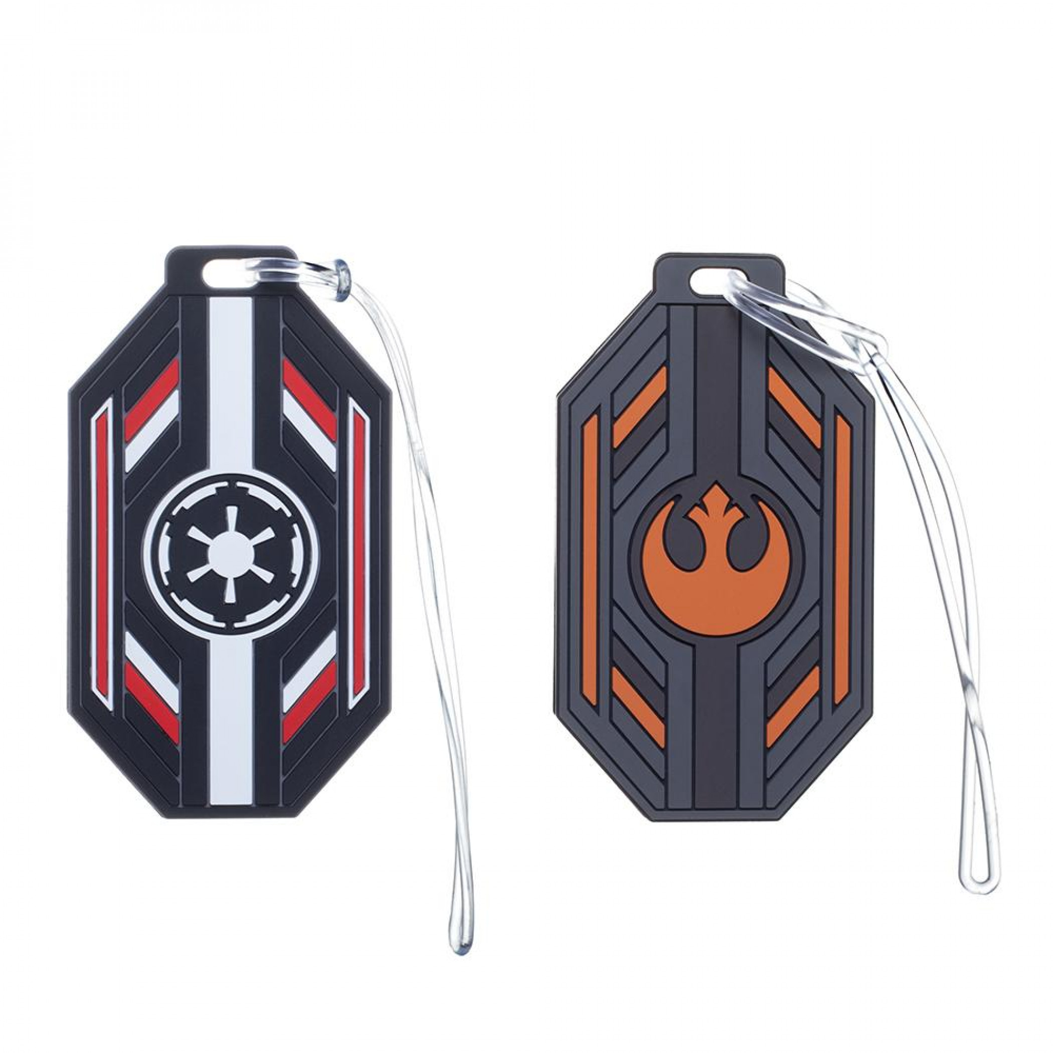 Star Wars Rebel and Empire Set of 2 Luggage Tags