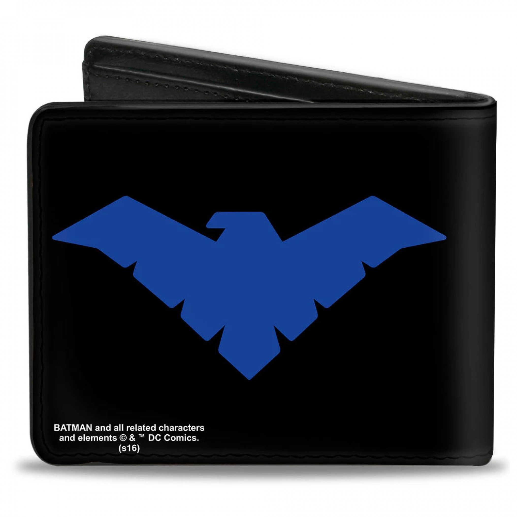 Nightwing Symbol Black and Blue Wallet