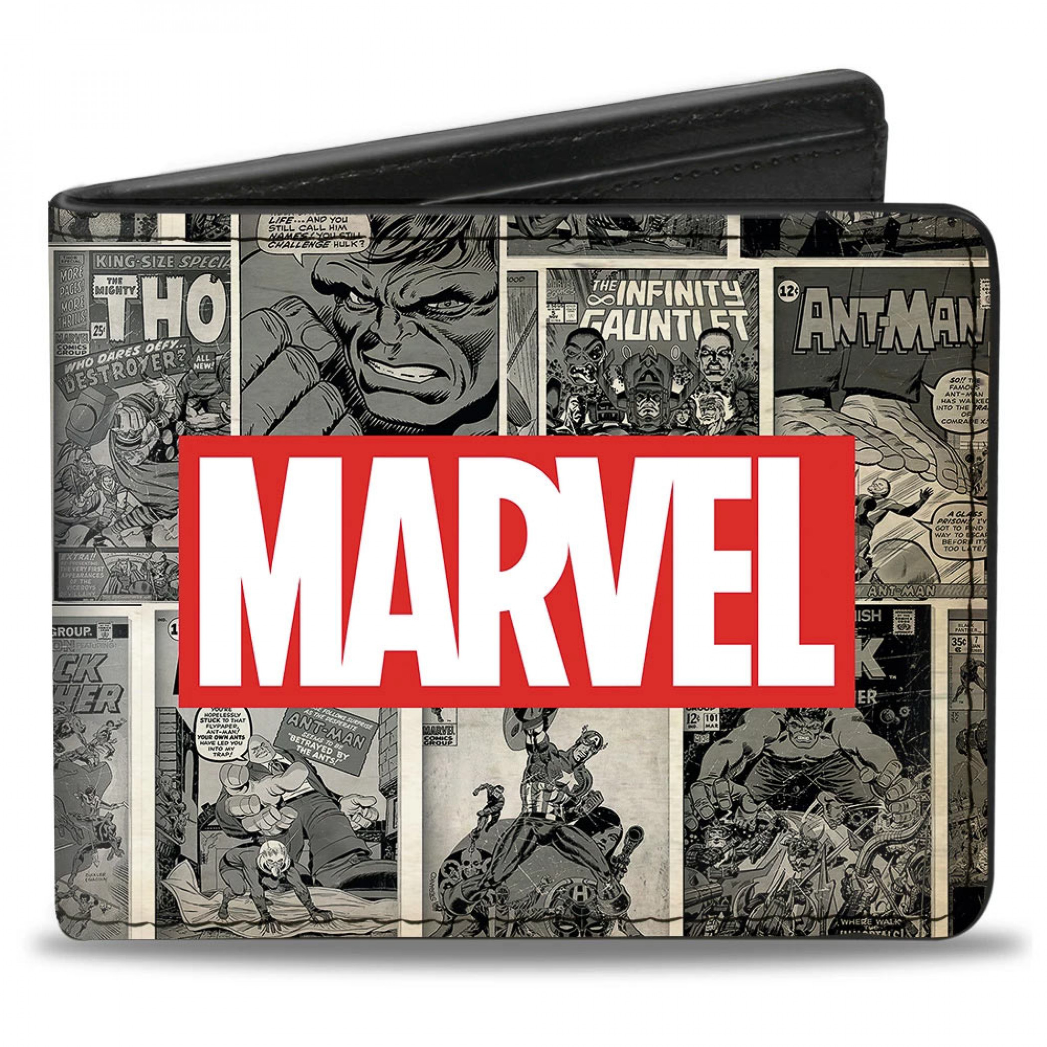 Marvel Comic Panels Wallet