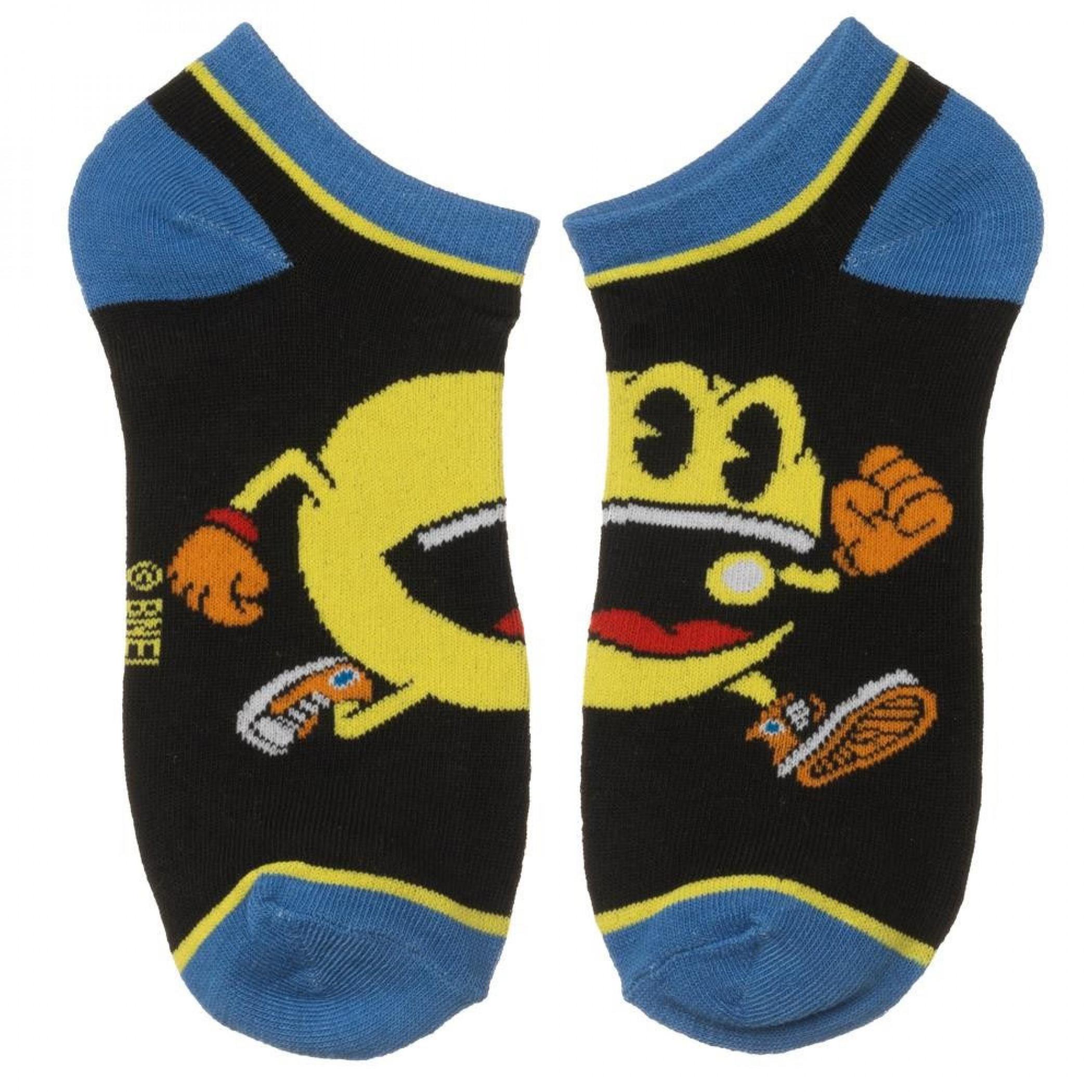 Pac-Man 5 Pair Ankle Socks Pack