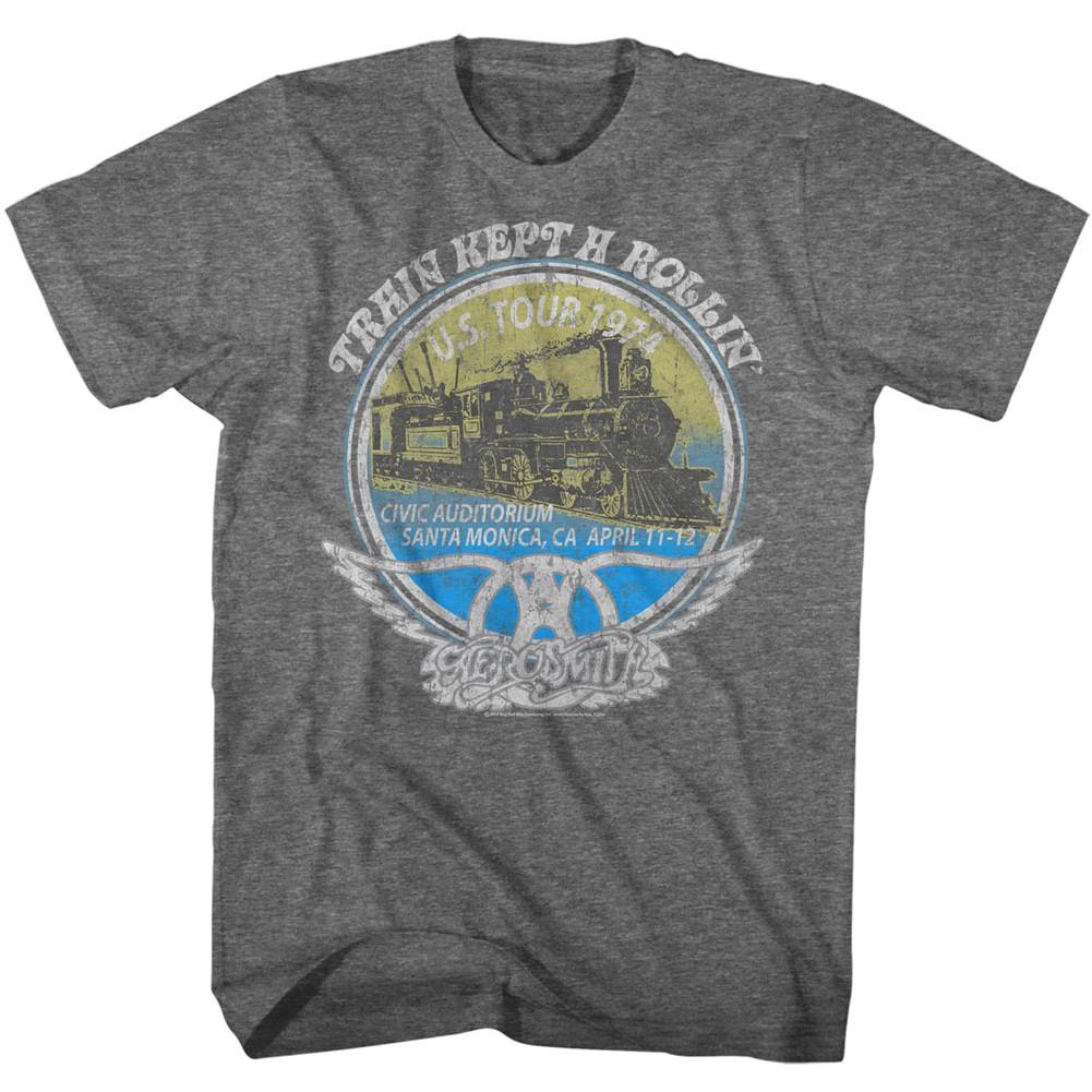 Aerosmith Train Kept A Rollin Tshirt