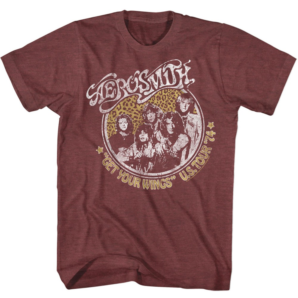 Aerosmith Get Your Wings Tour Tshirt