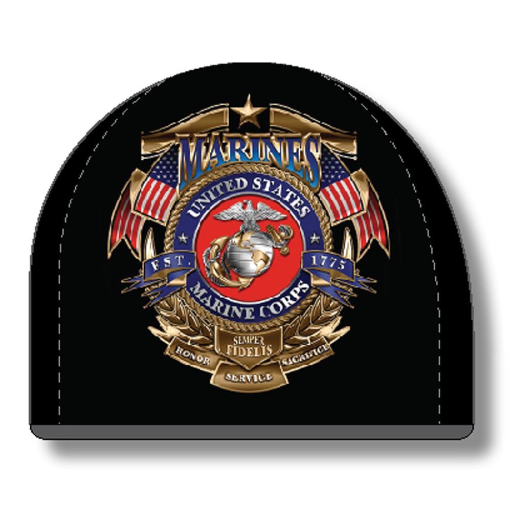 USMC Marines Black Hat Beanie