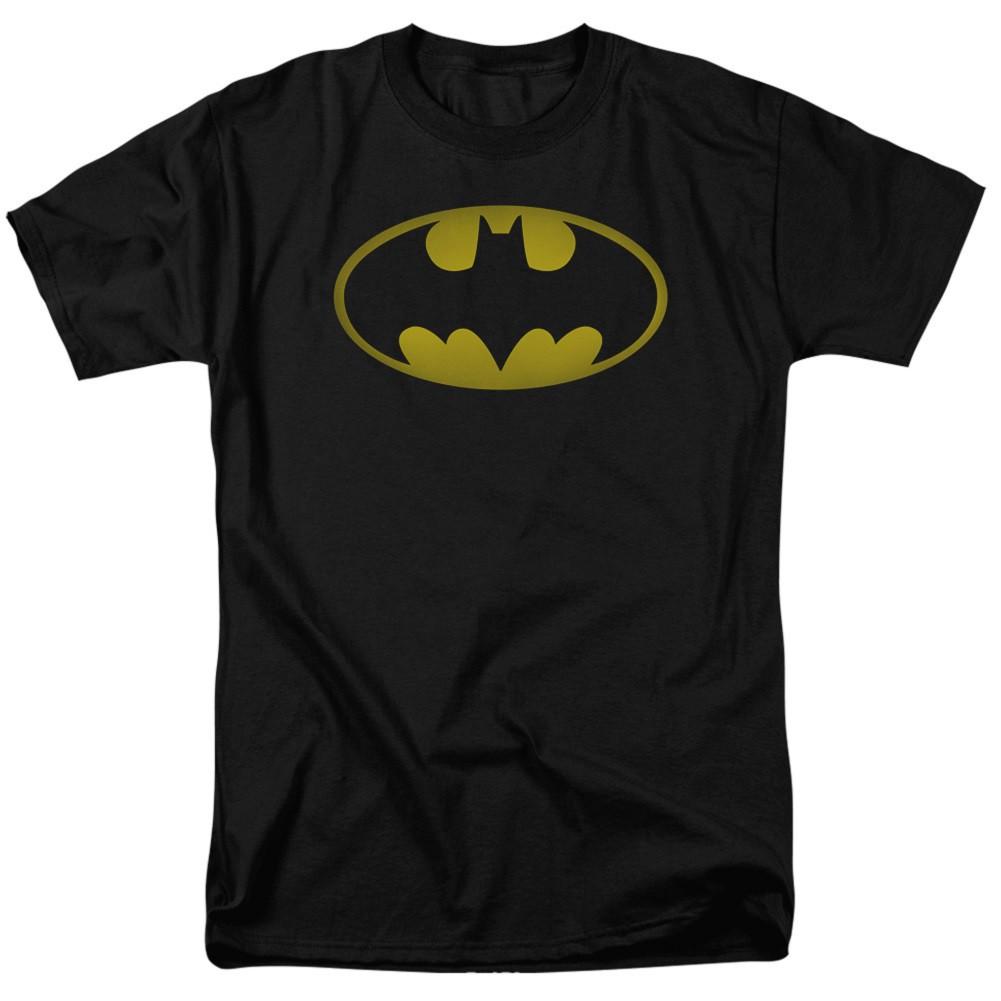Batman Washed Logo Men's Shirt