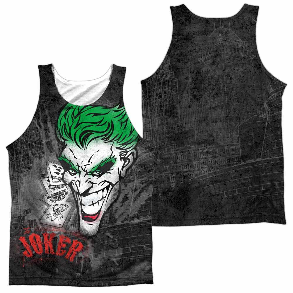 Batman Joker Sprays The City Sublimation Tank Top