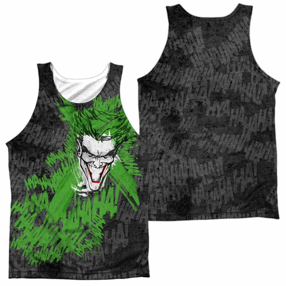 Batman What's So Funny Sublimation Tank Top